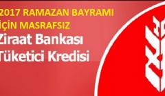 Günde 5 TL'ye 5.000 TL Masrafsız İhtiyaç Kredisi Ziraat Bankası