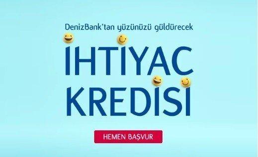 Denizbank 60 Ay Vadeli Evraksız Web'de Kredi Fırsatı