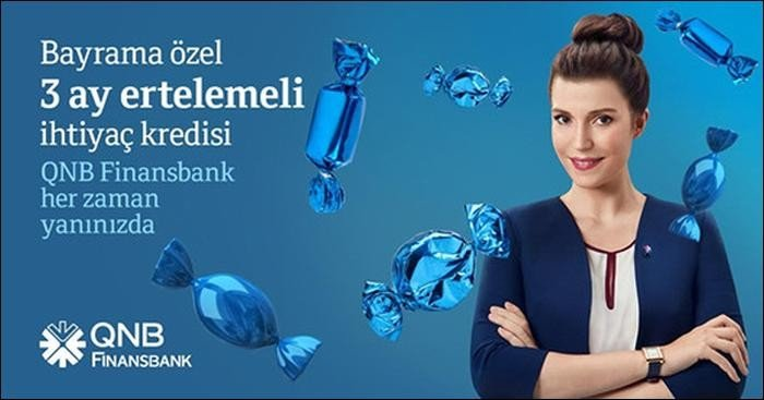 QNB Finansbank 3 Ay Ertelemeli Tanışma Kredisi