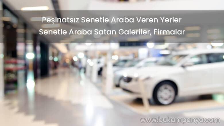 Senetle Taksitle Peşinatsız Araba Almak – wowwo